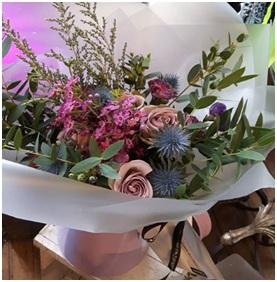 Mixed Large Aqua Bouquet