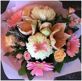 Pastel Coloured Bouquet (Florist Choice)