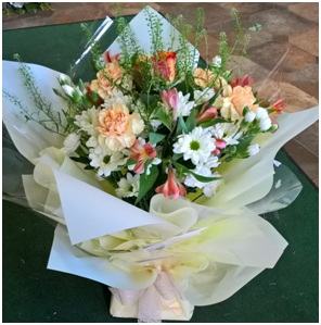 Hand Tied Bouquet in Water in a Box (Florist Choice)
