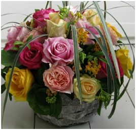 Mixed Florist Choice Hand Tie