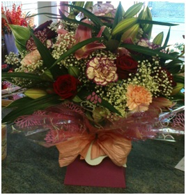 Traditional Funeral Posy (Florist Choice)