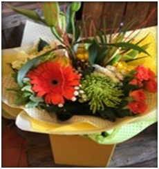 Aqua Bouquet - florist choice of seasonal flowers from