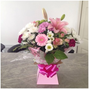 Boxed Hand Tied (Florist Choice)