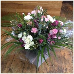 Pink Aqua Bouquet (Florist Choice)