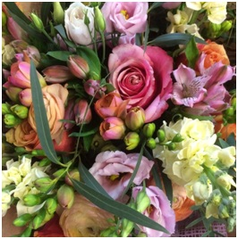Scented and Pastel Colours (Florist Choice)