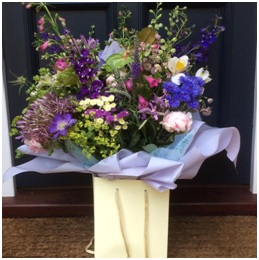 Wild and Wonderful Tall Display in a Bag (Florist Choice)