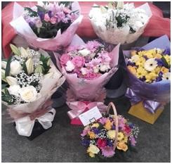 Florist Choice Aqua Bouquet