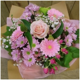 Florist Choice Bouquet (Pink Mix)