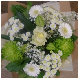 Florist Choice Bouquet (White Mix)