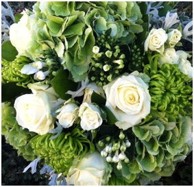 Classic White and Greens (Florist Choice)