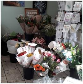 Aqua Florist Choice