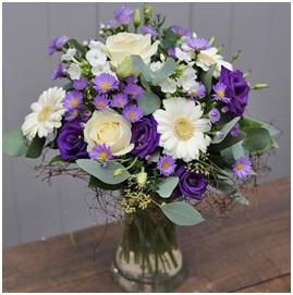 vibrant summer vase