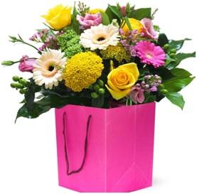 Gerbera bridesmaid bouquet