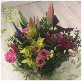 Rose and Lily Bouquet (Florist Choice)
