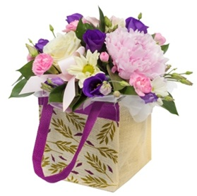 Mixed Aqua Bouquet