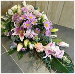 Single Ended Pink and Lilac (Contact Florist to Discuss)
