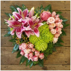 Clustered Heart (Contact Florist to Discuss)