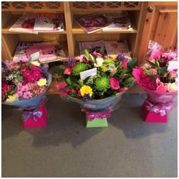 Mixed Seasonal Hand Tied Bouquets