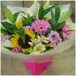Sunshine and Scents BQ (Florist Choice)