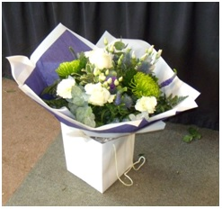 Mixed Hand Tied Box (Florist Choice)
