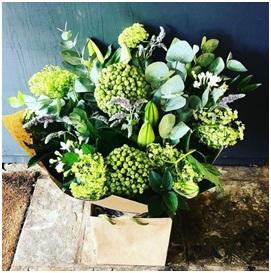 Green Mixed BQ (Florist Choice)