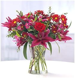 Hot Bouquet (No Vase, Florist Choice)