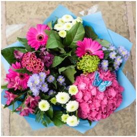 Pink and Purple Bouquet (Florist Choice)