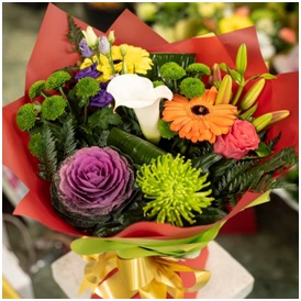 Autumn Shades Bouquet (Florist Choice)