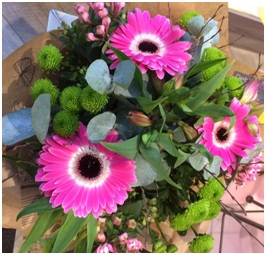 Pink and Green Bouquet (Florist Choice)
