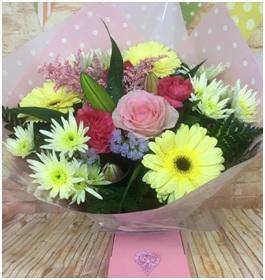 Soft Shaded Bouquet (Florist Choice)