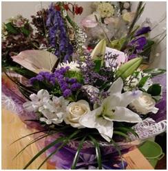 Large Florist Choice Aqua