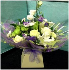 Purple and White Aqua (Florist Choice_