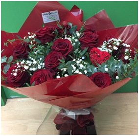 12 Red Roses (Please Order 3 days in advance...)