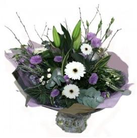 Purple and White (Florist Choice)