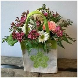 Jute bag Arrangement (Florist Choice)