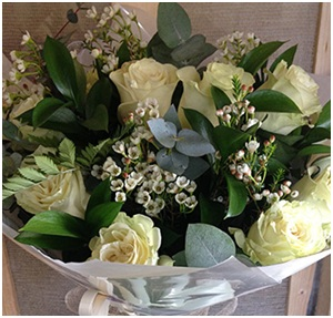 Cream Roses (Florist Choice)