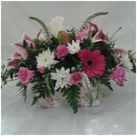Ceramic Arrangement (Florist Choice)
