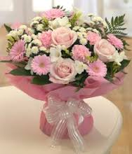 Soft Pink Handtie (Florist Choice)