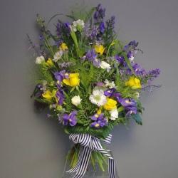 Purple Tied Flowers