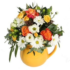 Flowers in a Ceramic Mug (Starts from €50.00...)