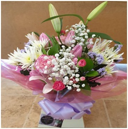 Soft Colours Bouquet (Florist Choice)