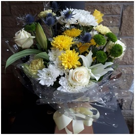 Yellow and White HT (Florist Choice)