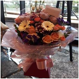 Soft Aqua Bouquet (Florist Choice)