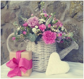 Flowers in a Watering Can (Florist Choice)