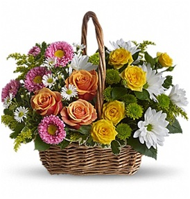 Sweet Tranquility Basket (Florist Choice)