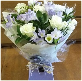 Lilac and Cream Bouquet (Florist Choice)