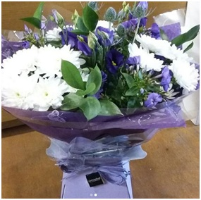 Purple and White Mix (Florist Choice)