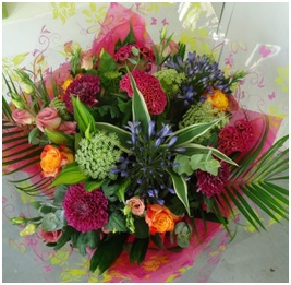 Hand Tied Bouquet (Colourful Florist Choice)