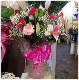 Mixed Lily Bouquet (Florist Choice)