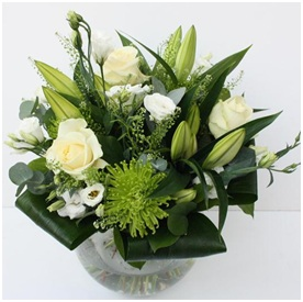 Limes and Whites (Florist Choice)